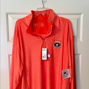 Limited Edition Astros 2017 WS long sleeve polo